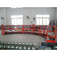 100m Electric Wire Rope Suspended Platform / equipment for aircraft maintenance stands Manufactures