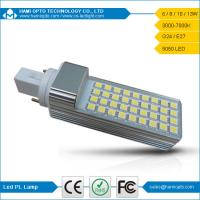 8W G24 LED Light Lamp, 5050SMD LED G24 Bulbs 4 Pins, Commercial Lighting Manufactures