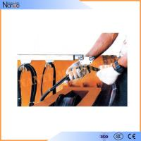 Crane C Rail Festoon System Galvanized Steel Conductor Rails With Brass Dowel Manufactures