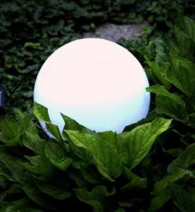 Quality Diameter 10 Cm Solar Powered Ball Lights For Festival Celebration Illumination for sale