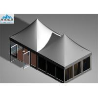 5x5m Pagoda Gazebo Tent with Aluminum Frame White PVC Roof Cover For Wine Festival Manufactures
