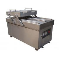 Commercial Vacuum Packing Machine Double Flat Chamber Full Automatic 100 Bags Per Minute Manufactures
