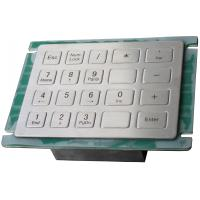 Plug and play USB interface rear panel mount metal industrial keypad for cash machines Manufactures