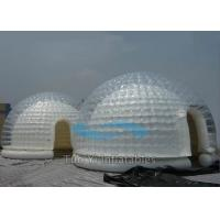 Durable Airtight Outdoor Bubble Tent Night , Inflatable Dome Tent For Camping Manufactures