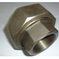 NPT Threaded 4 Inch Carbon Steel Pipe Fittings Carbon Steel Union SCH80 Wall Thickness Manufactures