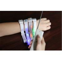 Quality Wireless Remote Controlled LED Light Up Bracelet With Battery Inside For Night Party for sale
