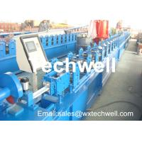 CCr 15 High Grade Steel Rolling Shutter Forming Machine For 5-15m/min Forming Speed Manufactures
