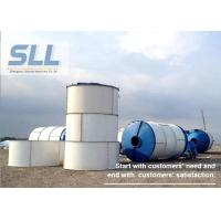 380V 400V 415V Portable Cement Silo , Lime Storage Silo Large Capacity Manufactures