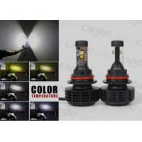 Small Cree Fanless 6000 Lumens 9004 Led Light Bulbs For Cars Manufactures