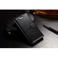 Quality Synthetic Sony Xperia Flip Cover , 3 Card Slots Shock Resistant Flip Leather for sale