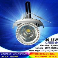 2700K-6500K 30W 35W recessed spotlight COB ceiling light  high CRI with factory price Manufactures