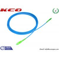 Rodent-resistant SM cable SC/APC to LC/APC sinplex armored optical fiber patch cables armoured cord jumper Manufactures