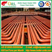 ORL Power 50 MW CFB Boiler Superheater For Petroleum Steam Oil Industry Plant Manufactures