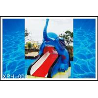 Outdoor Water Pool Slides for Kids, model of Small Elephant Manufactures