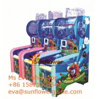 Best Video Ball Shooting Game Cannon Paradise Ball Shooting Prize Machine For Sale Manufactures