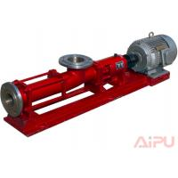 Oilfield high quality screw pump used to feed decanter centrifgue at Aipu Manufactures
