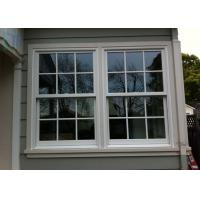 Customized Aluminum Vertical Sliding Windows /  Double Or Single Hung Window Manufactures