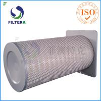 Square End Cap Gas Turbine Filters Cartridge For Air Inlet Housing F7 - F8 Efficiency Manufactures