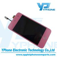 China Pink 3.5 Inches Original Cell Phone LCD Screen Replacement For iPod Touch 4 on sale