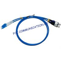 Armored LSZH Fiber Optic Patch Cable LC - FC Duplex Anti rodent Manufactures