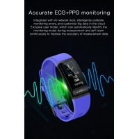 H8 ECG PPG HRV Blood Oxygen SPO2 Medical Health Care Smart Bracelet Waterproof Hear Rate Monitor Track Fitness Wristband Manufactures