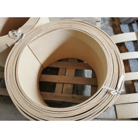 Anchor Windlass Non-asbestos Woven Brake Lining With Brass Wire Inside Manufactures