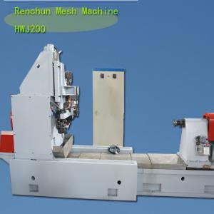 CS Vee Wire Mesh Welding Machine50-200 MM Tube Diamter 20R / Min Manufactures