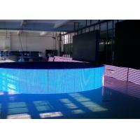 Indoor HD Curved LED Screen P10 , DIP Full Color Advertising LED Billboards Manufactures