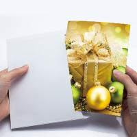 China Birthday Beautiful Sights 3D Lenticular Card Color UV Offset Printing on sale