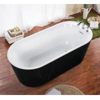 China cUPC one piece black freestanding acrylic tubs,freestanding bath,luxury bathtubs on sale