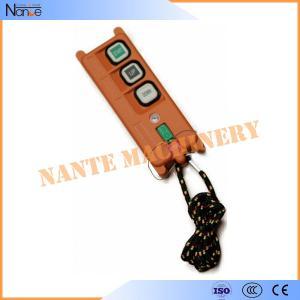 Digital Radio Glass - Fiber Wireless Hoist Remote Control Telecrane F21-2D Manufactures