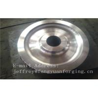 4140 42CrMo4 SCM440 Alloy Steel Rail Forged Wheel Blanks Quenching And Tempering Finish Machining Mine Industry Manufactures