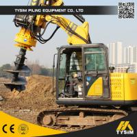 Multifunction 16m Foundation Pile KR50 Excavator Auger Drilling Rig / Well Bore Pile Drilling Rig Manufactures