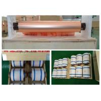 Electrolytic Thin Copper Foil High Ductility 500 - 5000 Meter Length Per Roll Manufactures