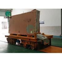 60MT Slab Deck Automotive Self-Propelled Rail Power Transport Cart System With Suspensions Manufactures