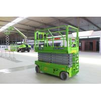 Working height 12m Scissor Lift Platform EWP with load capacity 320KG Manufactures