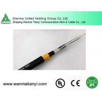 Outdoor 12fibers Sm G652D Aerial Self Supporting Fiber Optical Cable ADSS Manufactures