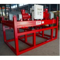 Reliable quality hot sales drilling fluid high speed decanter centrifuge for sale Manufactures