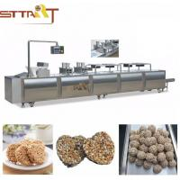 Siemens PLC Control Energy Bar Manufacturing Equipment / Cereal Bar Forming Machine Manufactures
