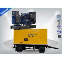 80kw 100kva Trailer Mounted Silent Type Generator With Cummins Diesel Engine Low Fuel Consumption Manufactures
