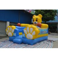 0.55mm Cute Commercial Jumper PVC Tarpaulin Bounce House Manufactures
