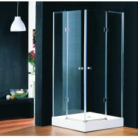 Quality Foldable Bathroom Designs Glass Shower Enclosures With Lifting Hinges for sale