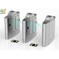 Retractable Flap Barrier Gate Turnstile Painted Intelligent For Access Manufactures