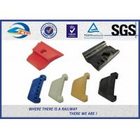 PA66 Rail Nylon Insulator Plastic and Rubber Part for Railway Fastening System Manufactures