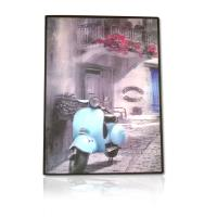 PVC frame 3d framed picture for home decoration Manufactures