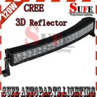 New 3D Reflector 22'' 120W CREE Led Light Bar Off road 4x4 Truck CurveD Driving arch bent Manufactures