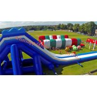 Europe`s largest inflatable slide inflatable water slide  Gung-ho inflatable obstacle course 5k Manufactures