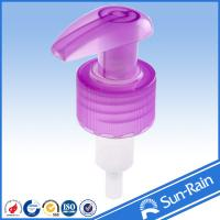 China 24mm 28mm Plastic lotion pump / liquid dispenser for shampoo bottle on sale