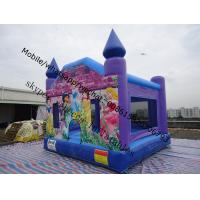 frozen  bouncy castles  lovely inflatable castle Manufactures