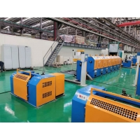 Aluminum Alloy Wire Drawing Machine Inlet 9.5-4.5mm,Outlet 2.4-5.5mm Manufactures